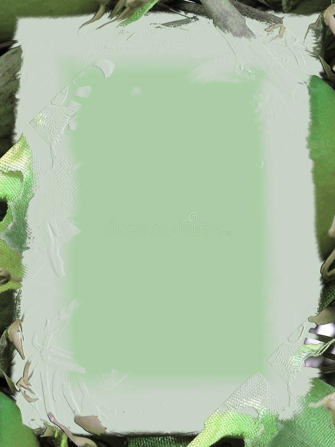 gröna gräsplaner stock illustrationer
