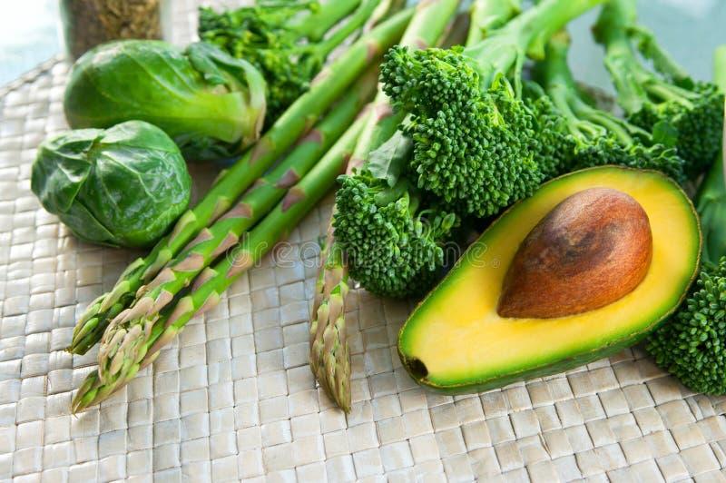 gröna grönsaker royaltyfri fotografi