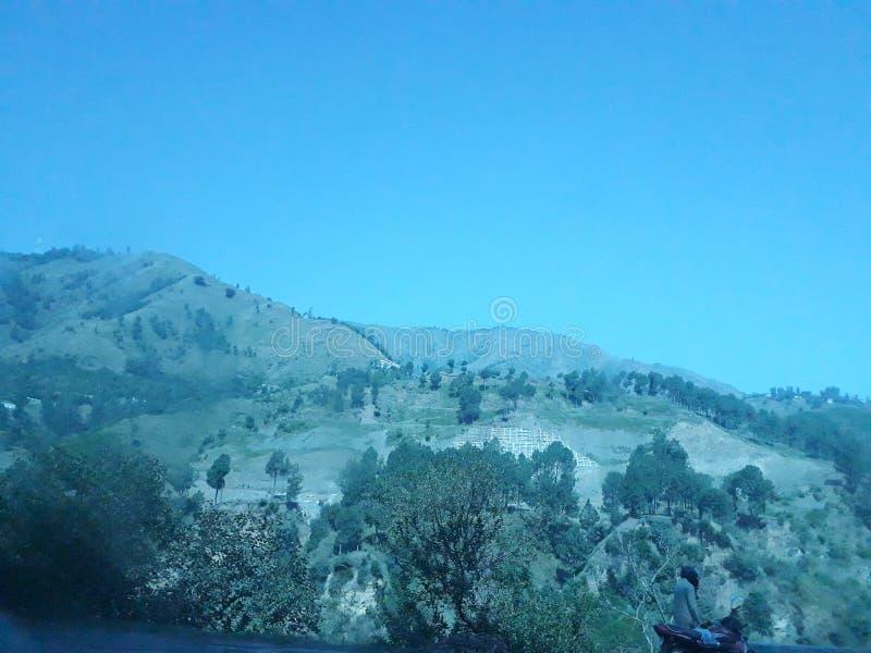 gröna kullar royaltyfria foton