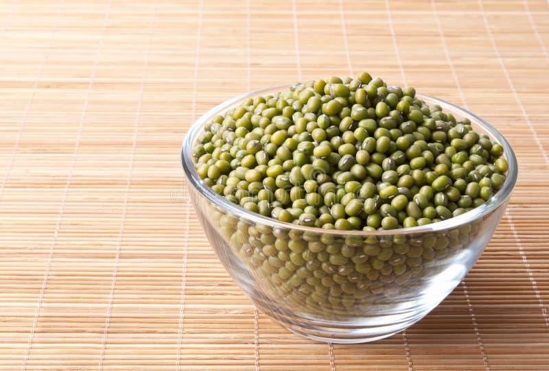 Gröna mung bönor arkivfoto