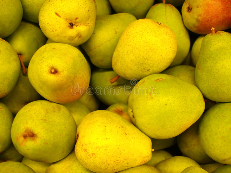 gröna pears royaltyfri fotografi
