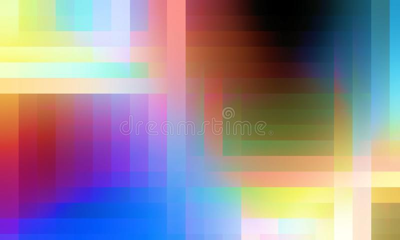 Gr?na r?da gula bl?a orange ljus, bakgrund, textur arkivfoton