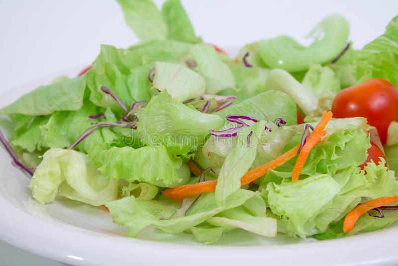1 gröna sallad arkivfoto
