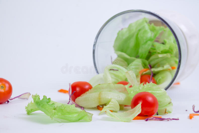 1 gröna sallad arkivfoton