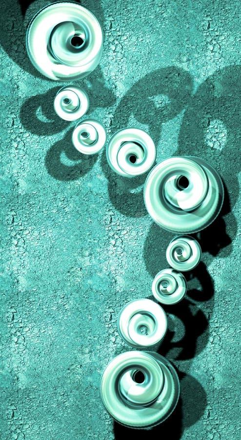 gröna smyckenkulor arkivfoton