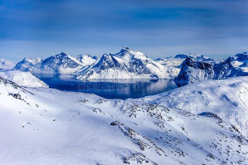 Grönlandinlandis arkivbilder
