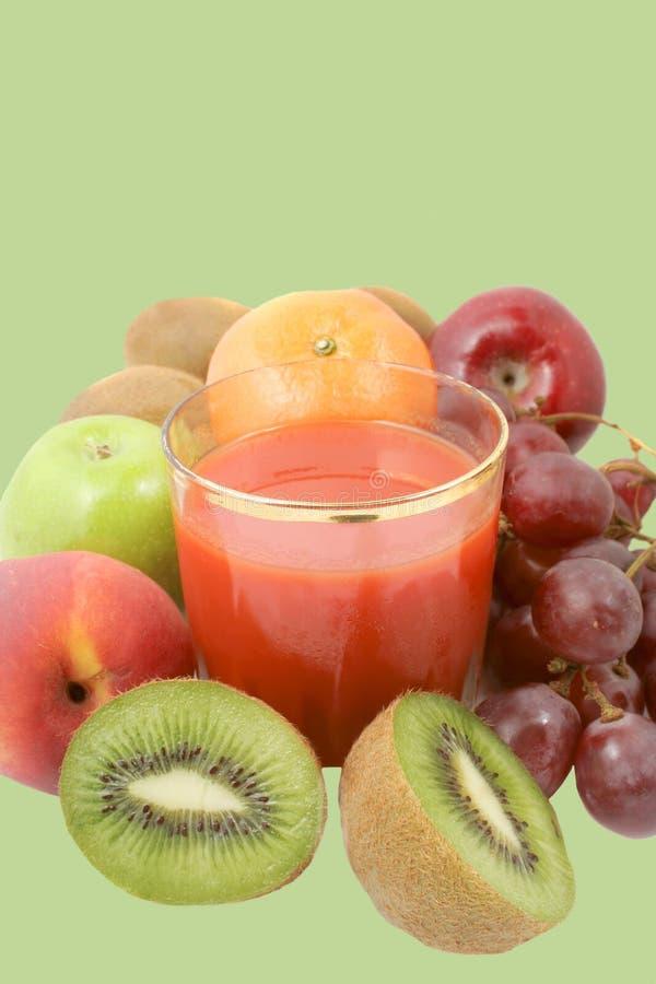 grönsak för fruktfruktsaftred royaltyfri fotografi