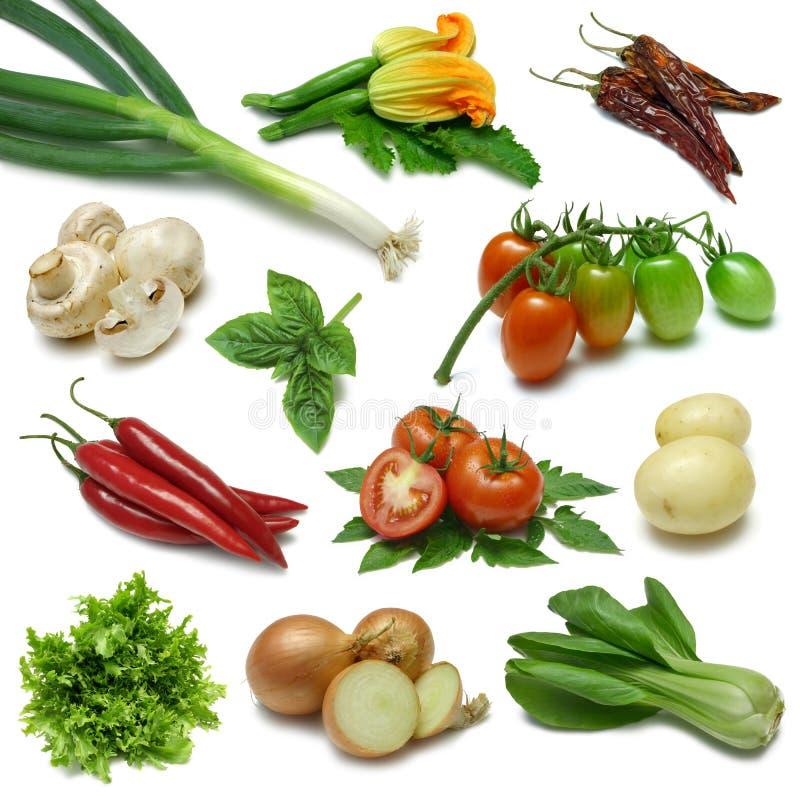 grönsak för märkduk två arkivfoto