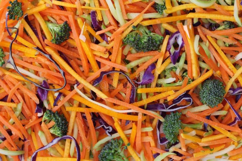 grönsak för stir för småfisk för bakgrundsbroccoli ny fotografering för bildbyråer