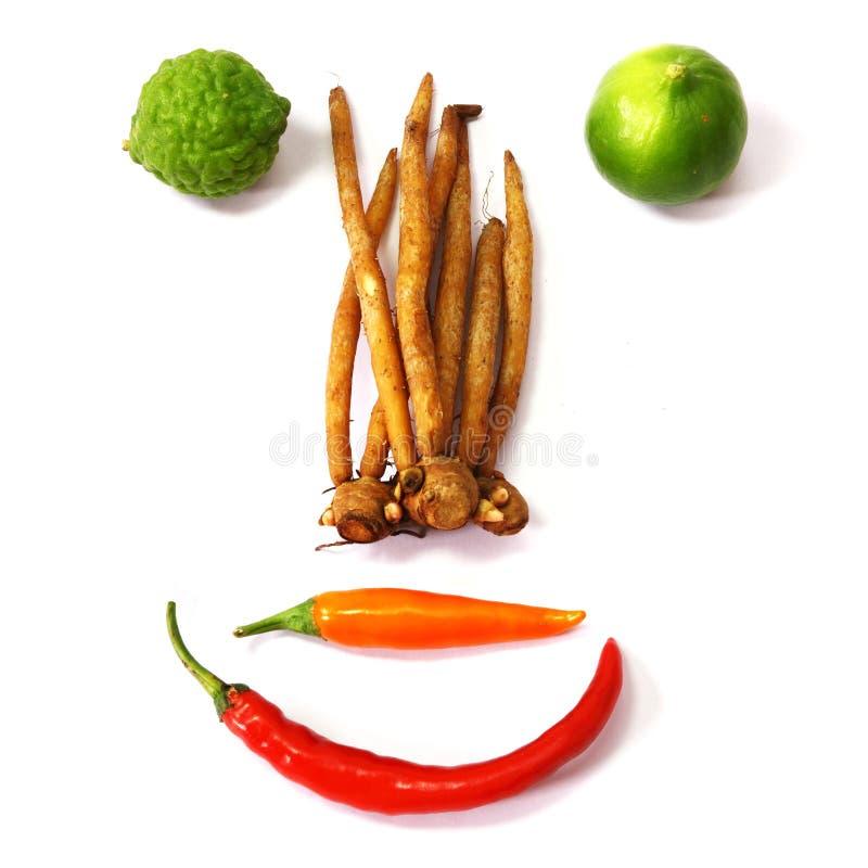 Grönsak och ingredienser royaltyfria foton