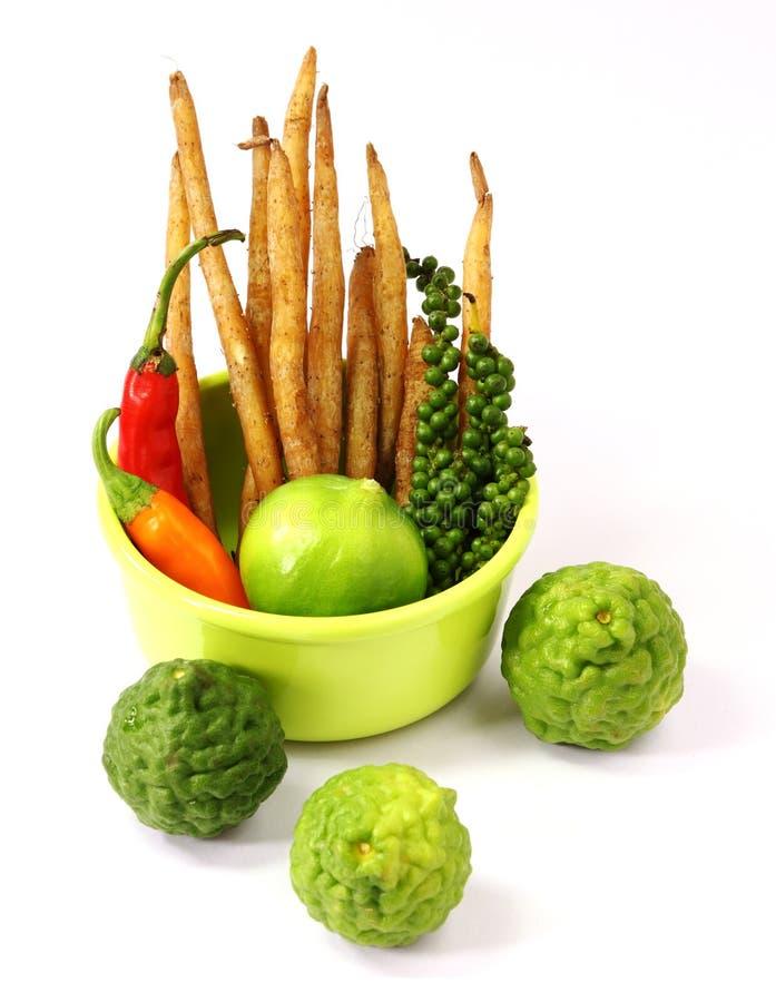 Grönsak och ingredienser arkivfoto
