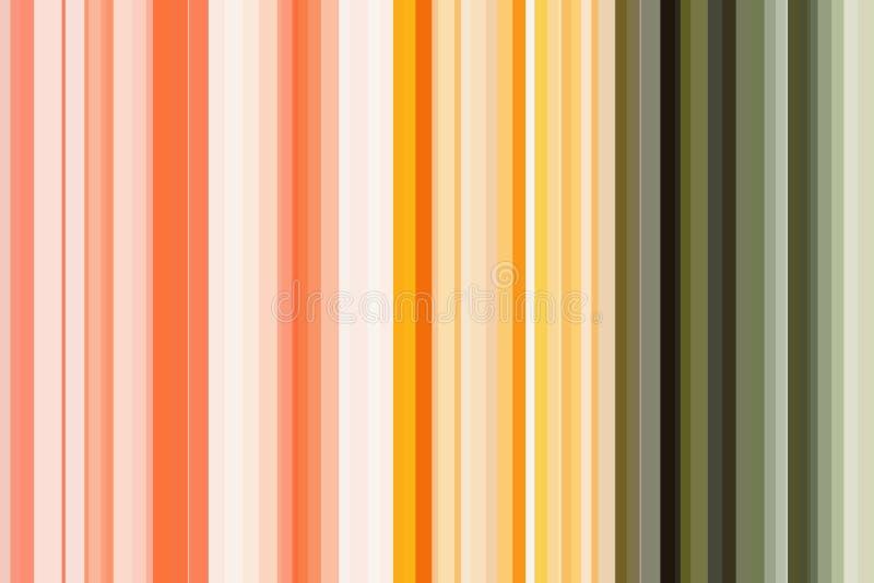 Grönsaker begrepp, regnbågefärg Färgrik sömlös bandmodell abstrakt bakgrundsillustration Stilfull modern trendfärg stock illustrationer