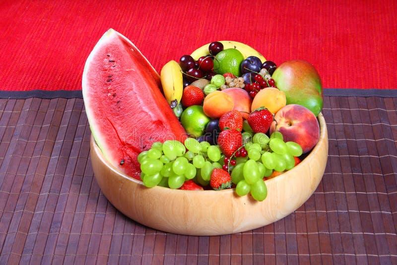 Grönsaker och frukter royaltyfria foton