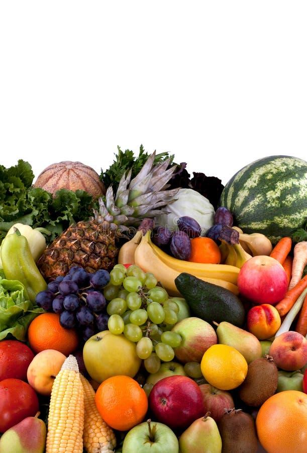 Grönsaker och frukter royaltyfri bild