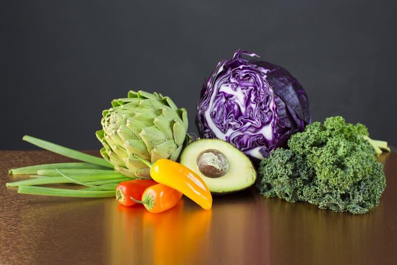 Grönsakskärm royaltyfri fotografi