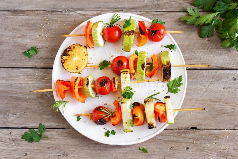 Grönsaksteknålar royaltyfri foto