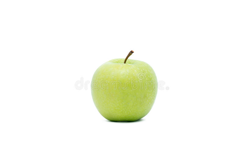 Grönt äpple arkivfoton