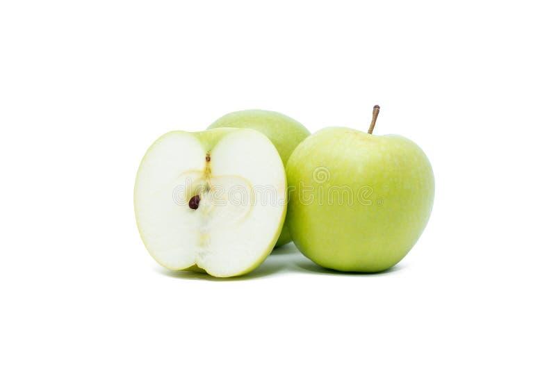 Grönt äpple royaltyfria foton