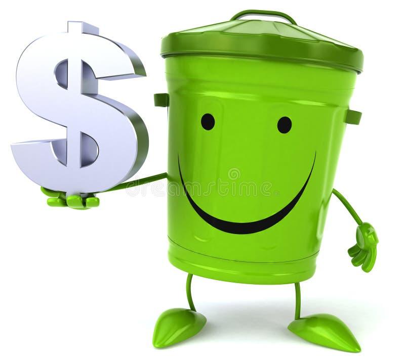 grönt avfall vektor illustrationer
