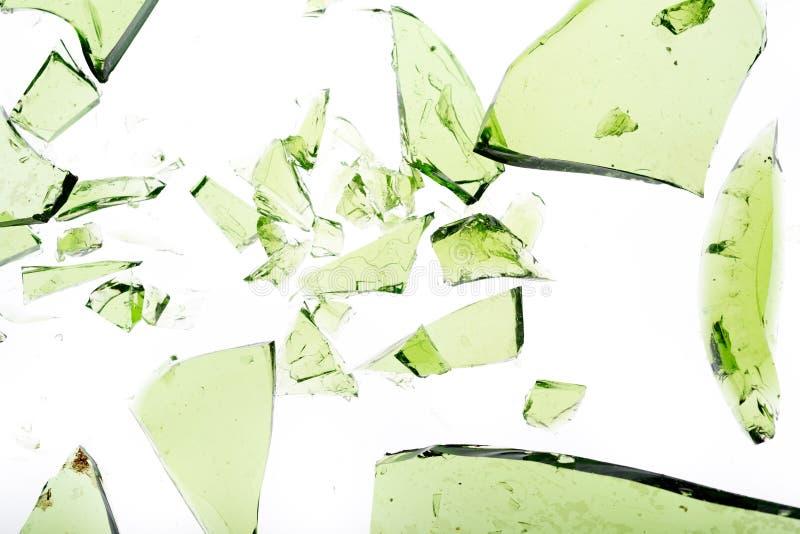 Grönt exponeringsglas royaltyfria foton