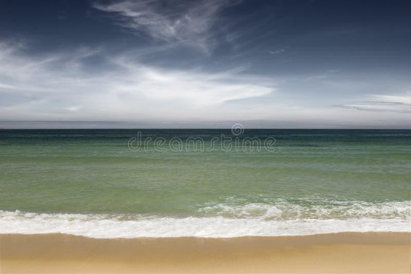 grönt hav arkivfoton
