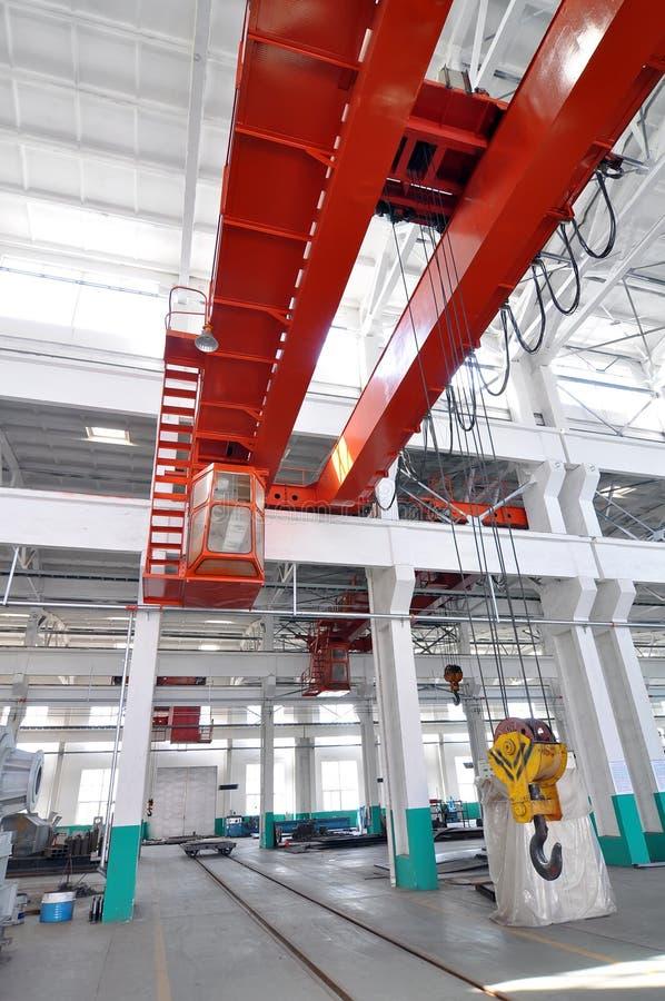 Grúa industrial foto de archivo