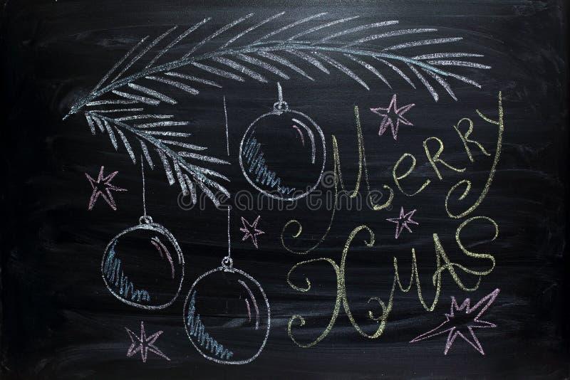 Grüße der frohen Weihnachten lizenzfreies stockbild