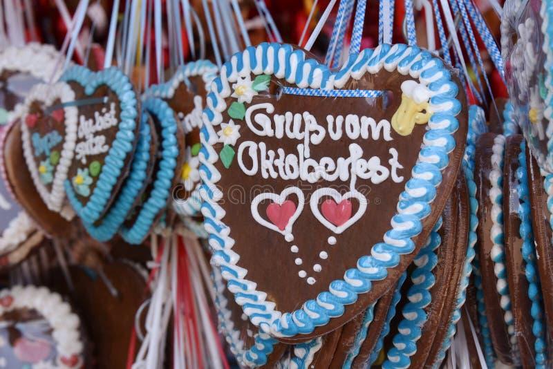 Grüße von Oktoberfest lizenzfreies stockfoto