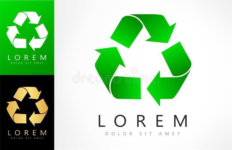 Grün bereiten Logovektor auf lizenzfreie abbildung