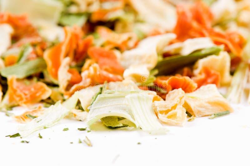 Grün für Suppe stockbilder
