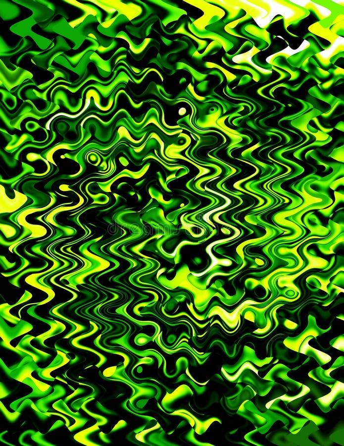 Grün-Strudel lizenzfreies stockbild