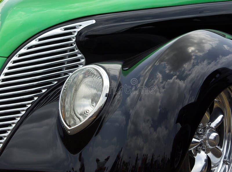 Grün U. Schwärzen Sie 38 Ford Lizenzfreies Stockfoto