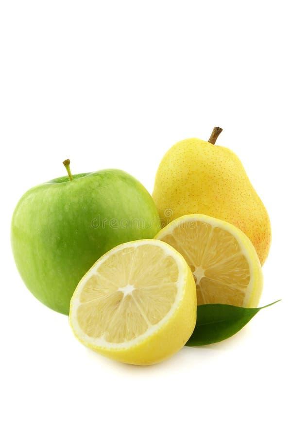 Grün und Gelb lizenzfreies stockbild