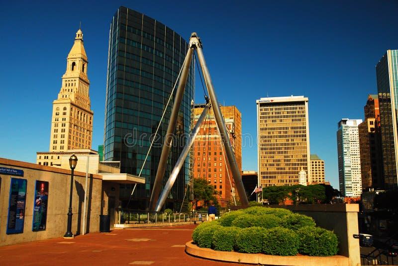 Gründer überbrücken, Hartford stockfoto
