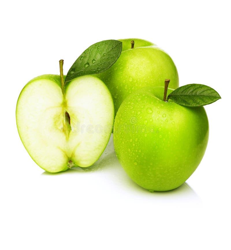 Grüne Äpfel - Granny Smith lizenzfreies stockfoto