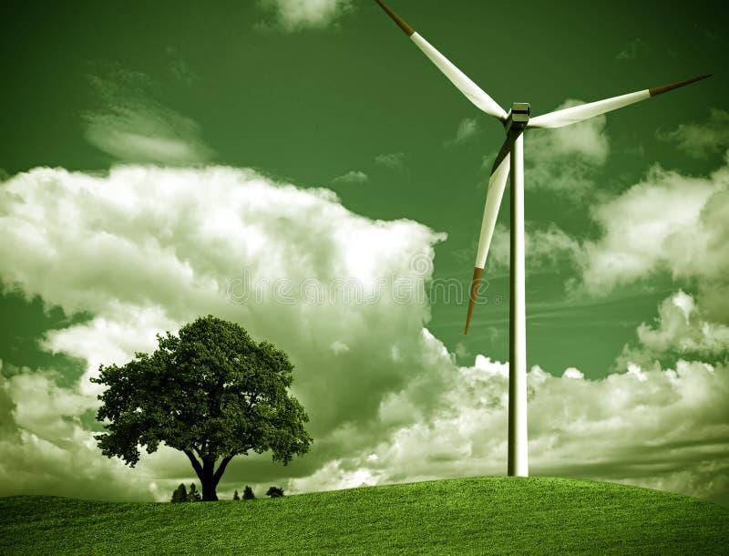 Grüne Ökologie lizenzfreies stockbild