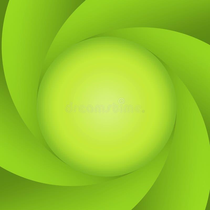 Grüne abstrakte Membrane vektor abbildung