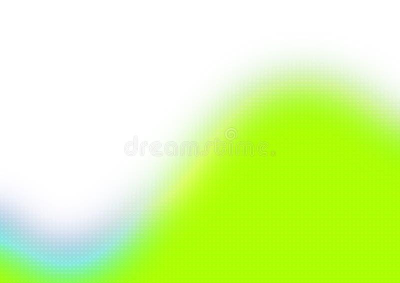 Grüne abstrakte Tapete vektor abbildung