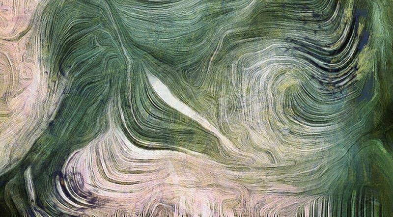 Grüne Abstufungen lizenzfreie abbildung