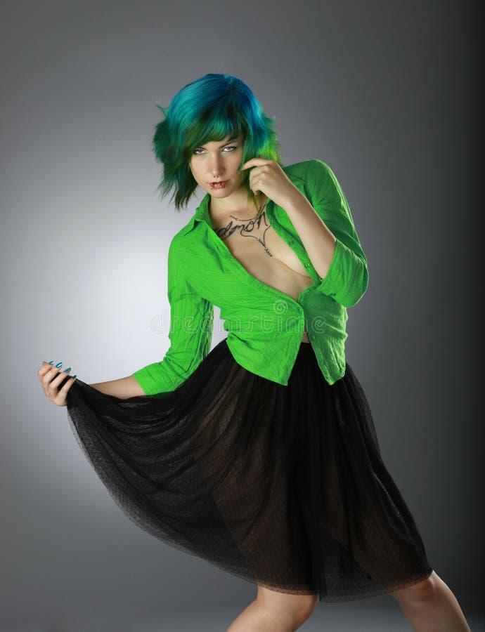 Grüne Art und Weise lizenzfreie stockfotos