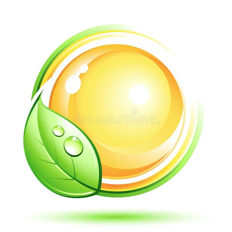 Grüne Auslegung stock abbildung
