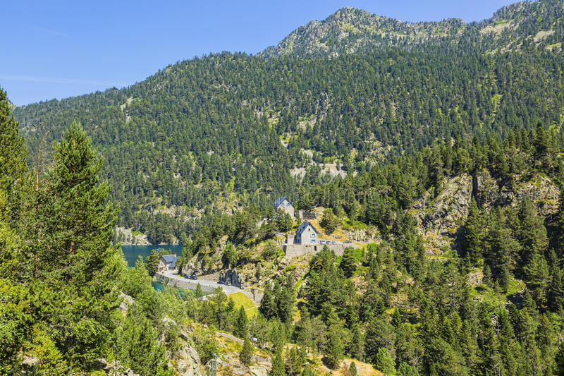 Grüne Berge lizenzfreies stockfoto