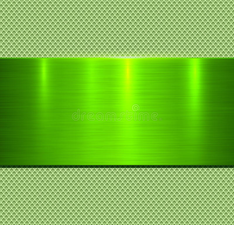 Grüne Beschaffenheit des Hintergrundes Metall lizenzfreie stockbilder