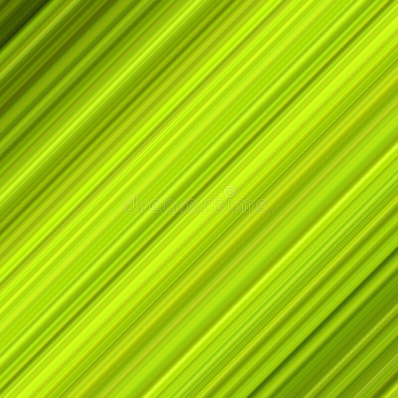 Grüne bunte diagonale Zeilen. stock abbildung