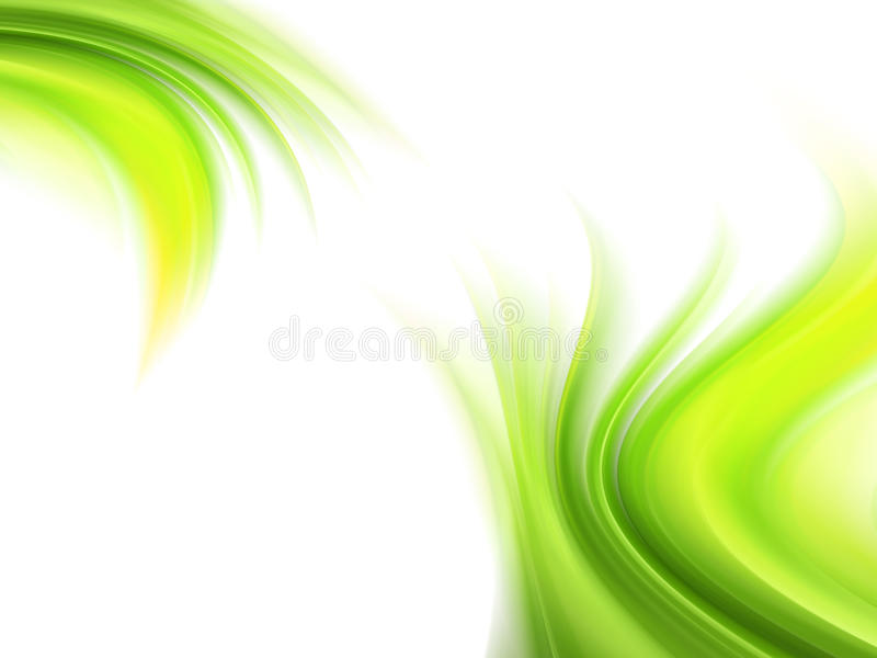 Grüne Dekoration lizenzfreie abbildung
