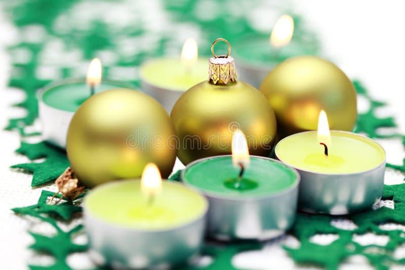Grüne Dekoration lizenzfreies stockfoto