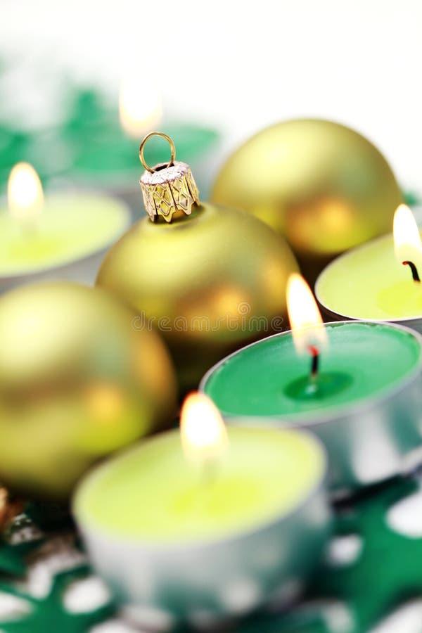 Grüne Dekoration stockbild