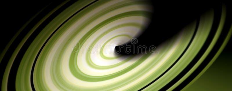Grüne Drehbeschleunigung stockfoto