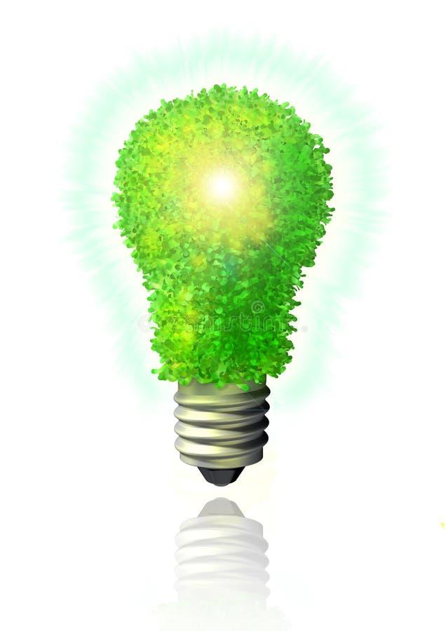 Grüne eco Energie vektor abbildung