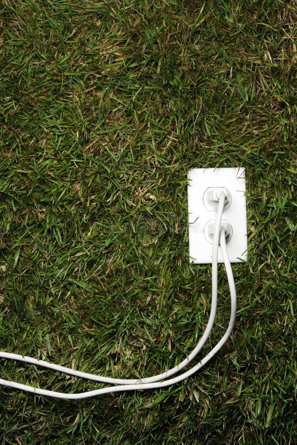 Grüne Energie lizenzfreies stockbild